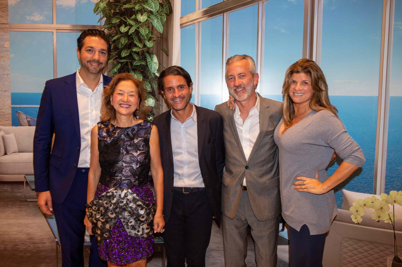 Jeff Miller, Olivia Hsu Decker, Alvara Cardenas, Jorge Uribe and Dora Puig