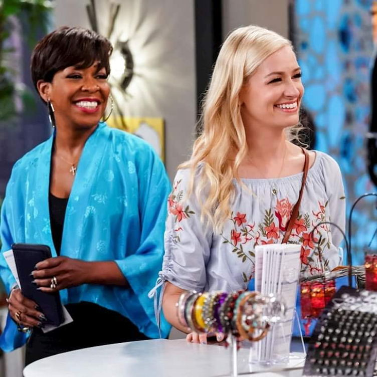 Tichina and Beth Behrs