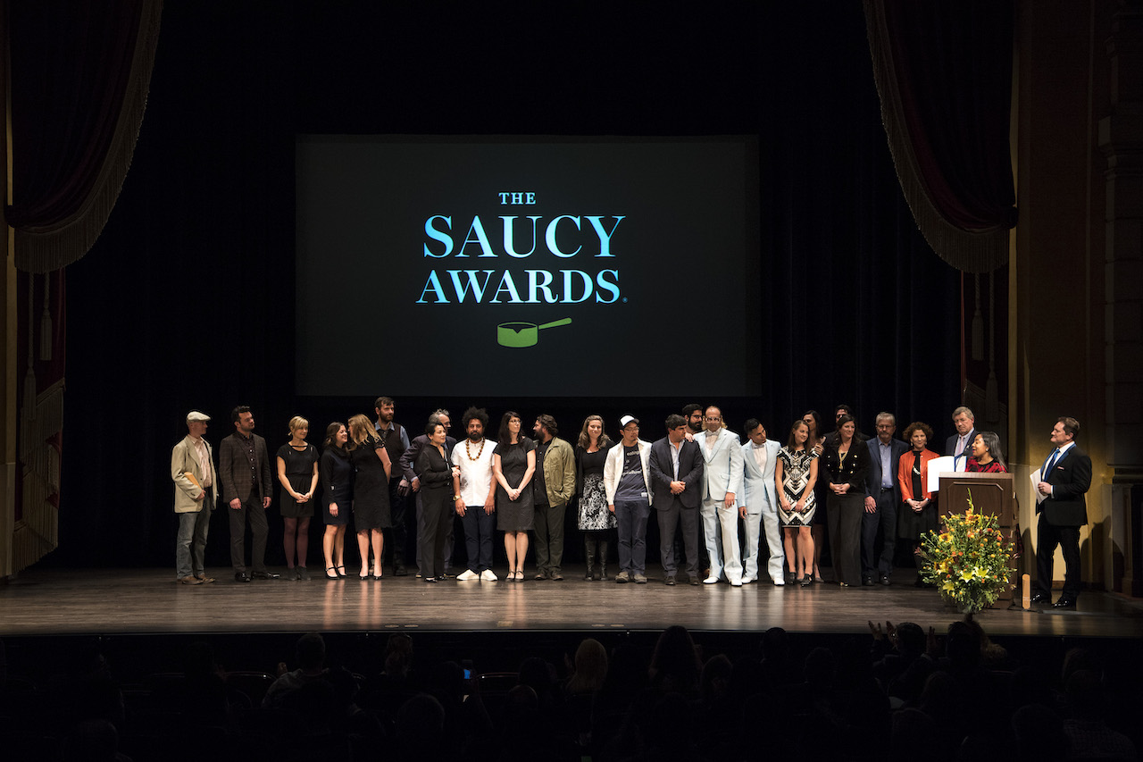 Last year's Saucy Awards