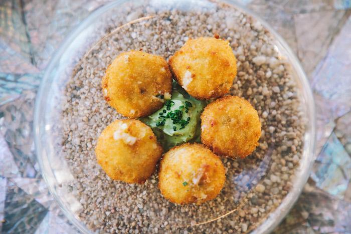 Loaded Potato Croquette
