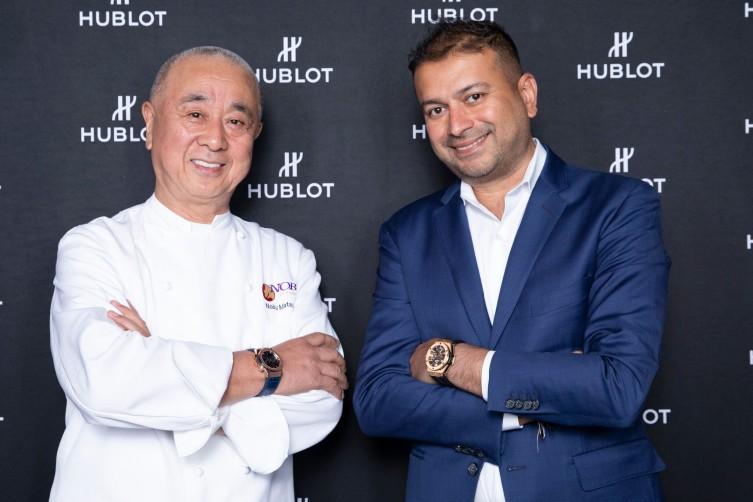 Nobu Matsuhisa and Kamal Hotchandani