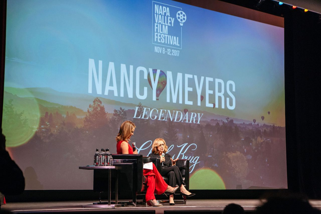 Morales pays tribute to Nancy Meyers at NVFF last year