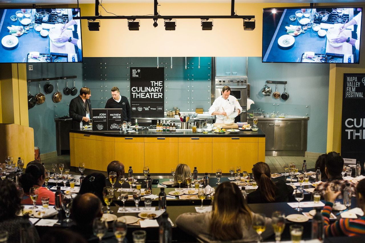 A culinary event at last year's festival