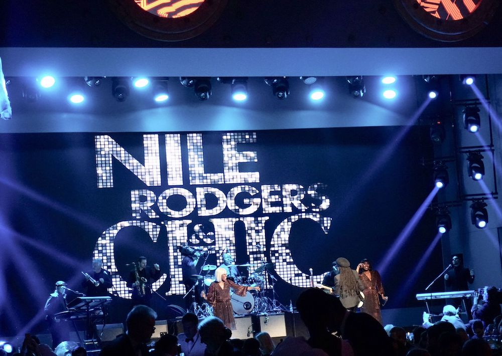 Niles Roger Chic performs