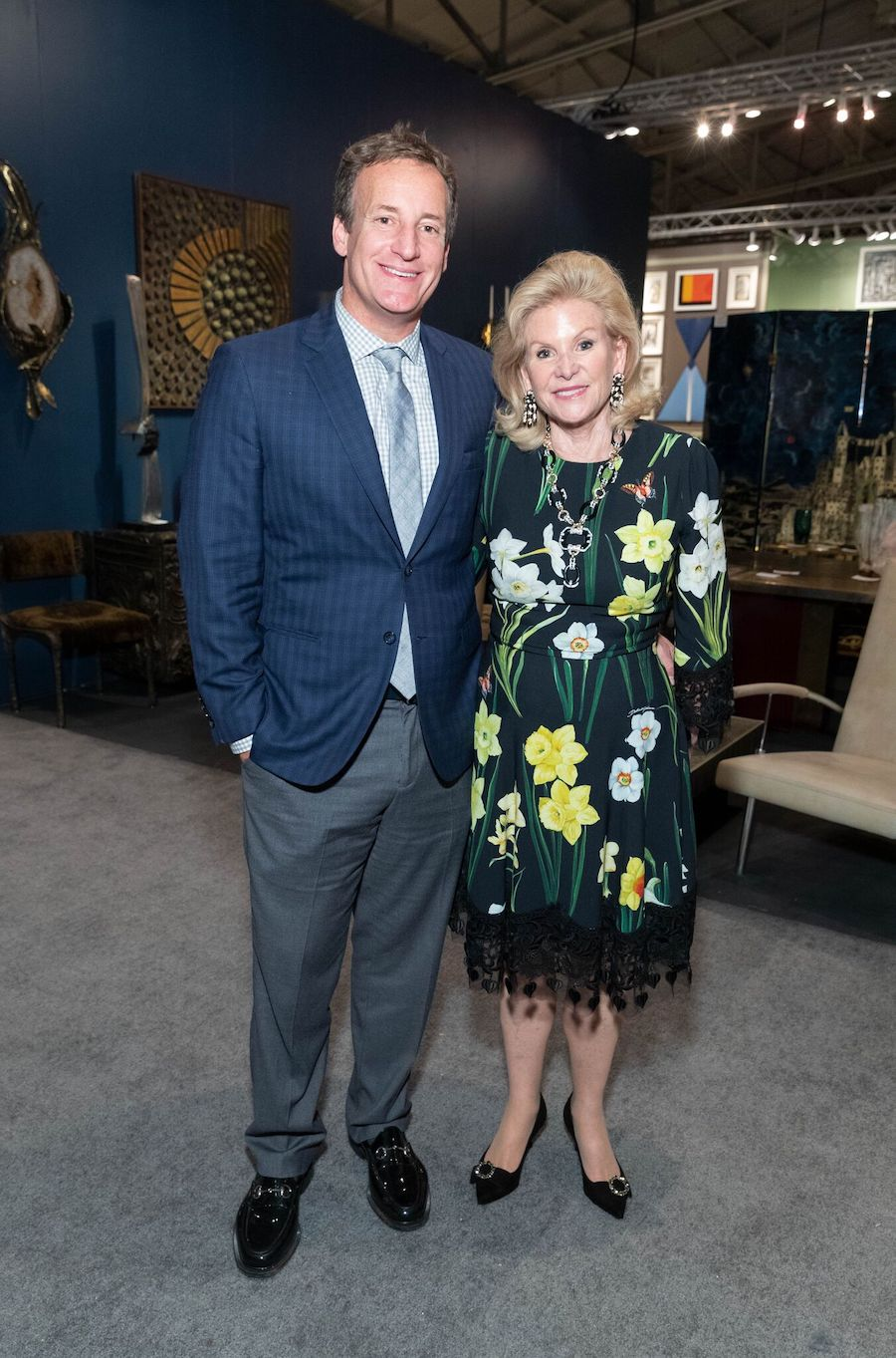 Wilsey and Todd at the 2018 San Francisco Fall Art & Antiques Show
