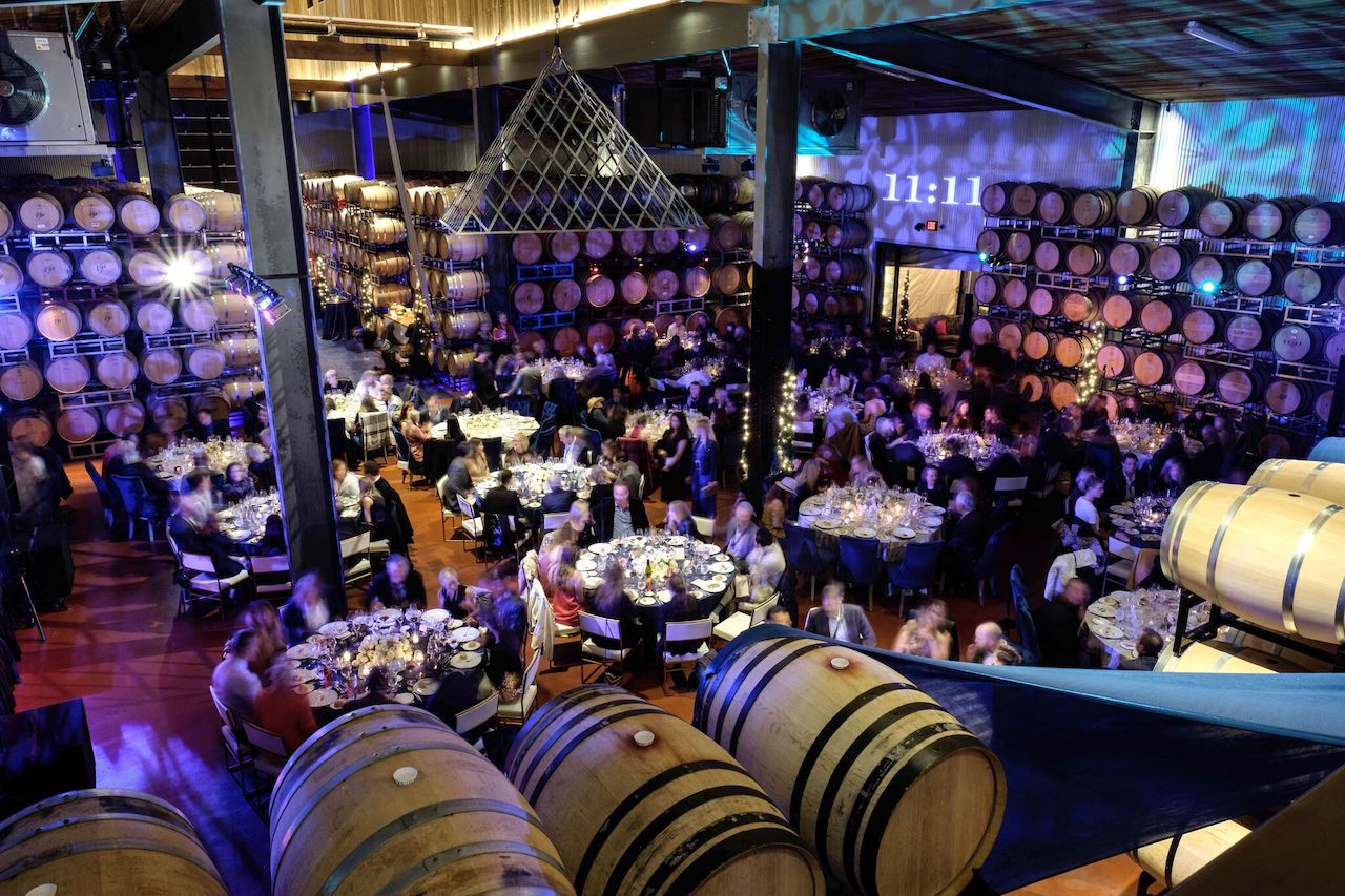 The A-List dinner party at the 2017 Napa Valley Film Festival