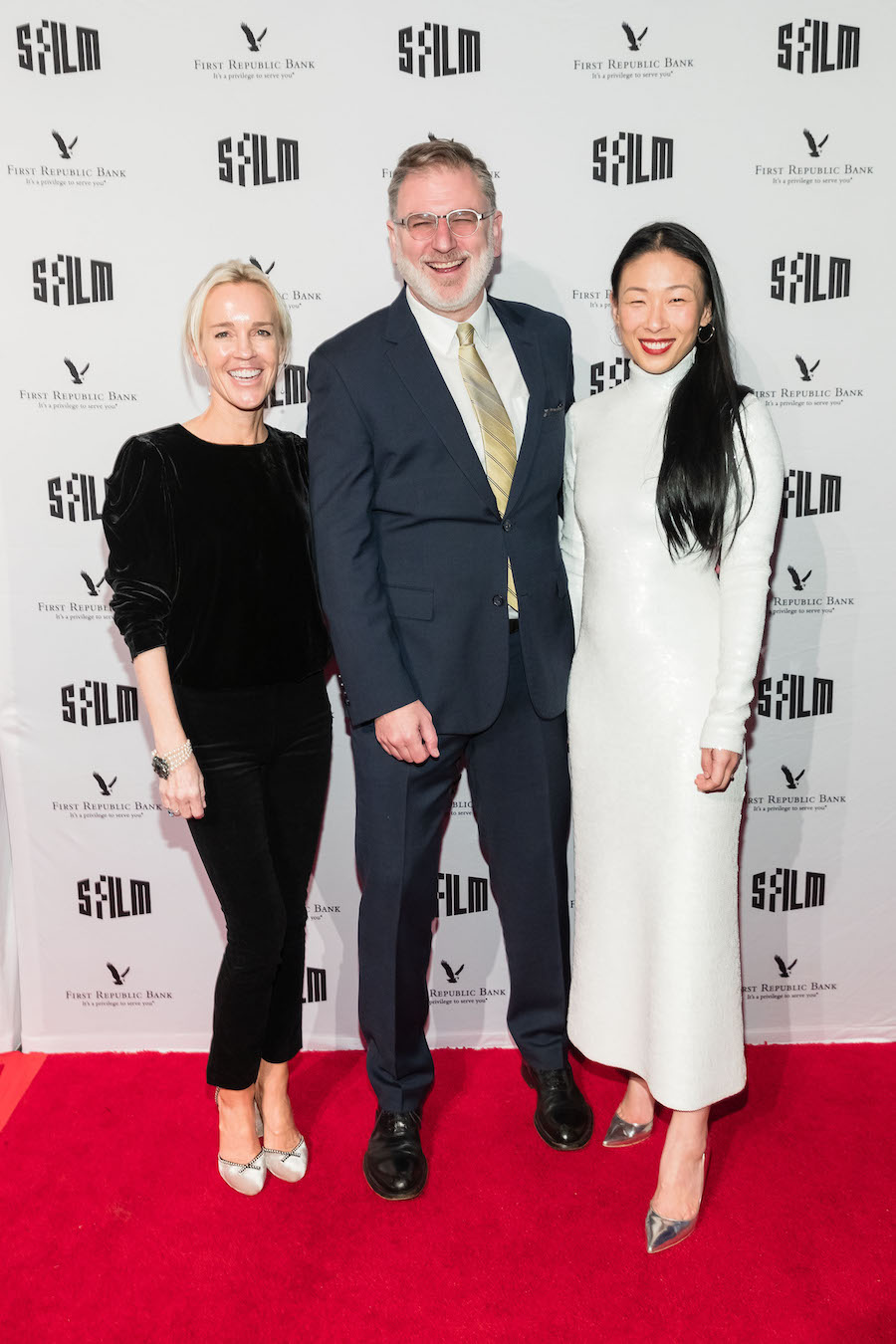Heidi Fisher, Noah Cowan and Sonya Yu