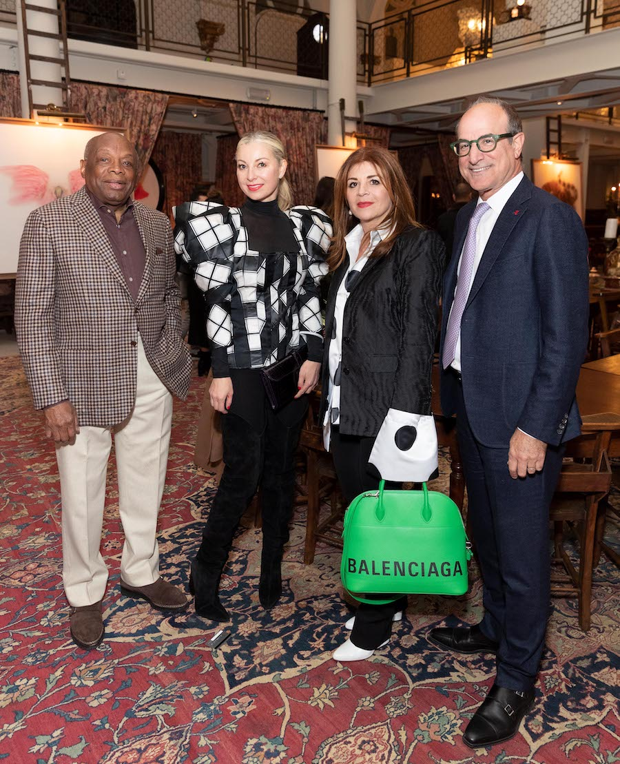 Willie Brown, Sonya Molodetskaya, Farah Makras and Victor Makras