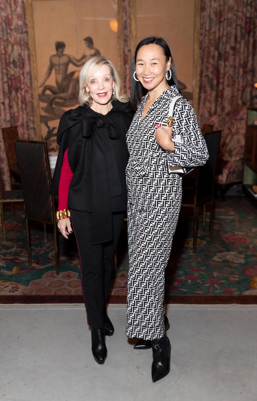 Barbara Brown and Carolyn Chang
