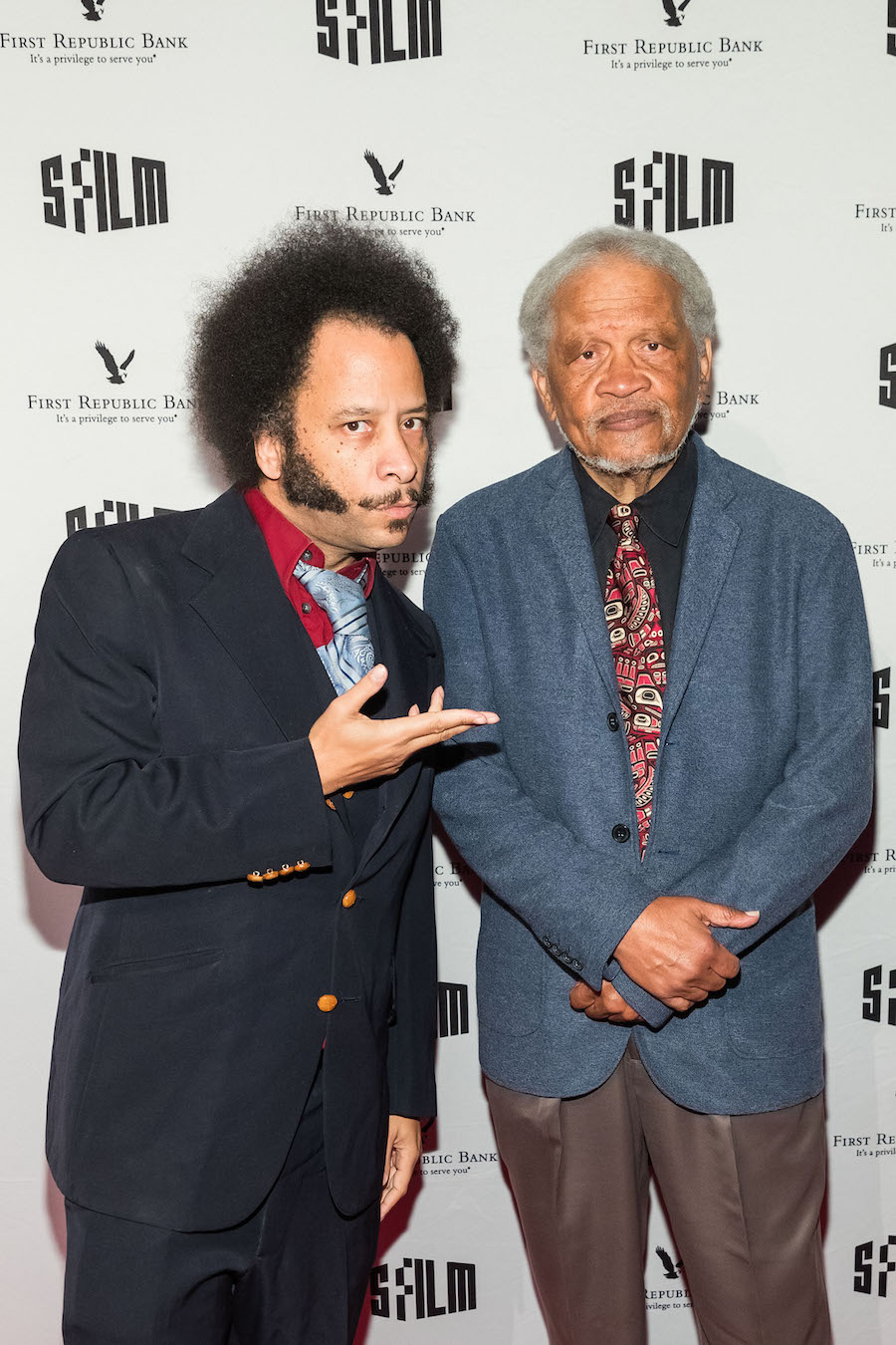 Boots Riley and Ishmael Reed