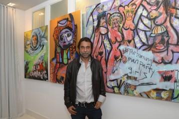 Haute Living, JAJA Tequila, & D. Candaux Presents Jordi Molla Collectors Dinner At Mondrian Hotel With David Rosen Galleries