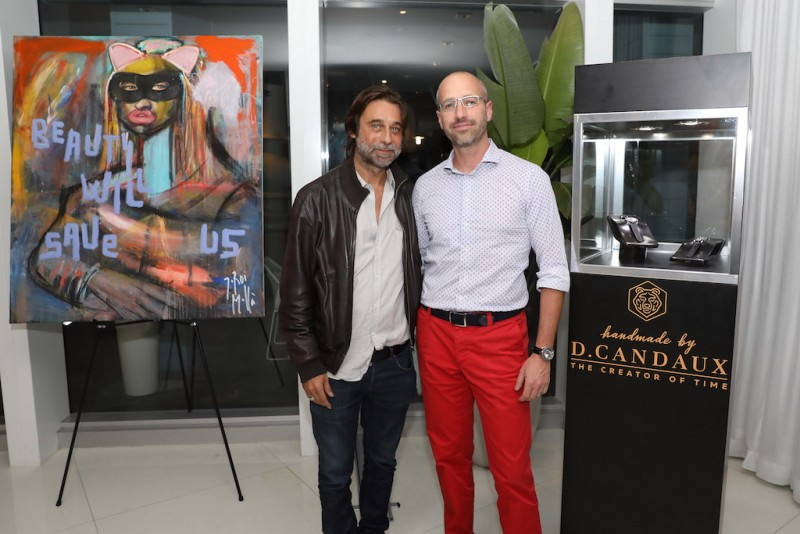 Haute Living, JAJA Tequila, & D. Candaux Presents Jordi Molla Collectors Dinner At Mondrian Hotel With David Rosen Galleries