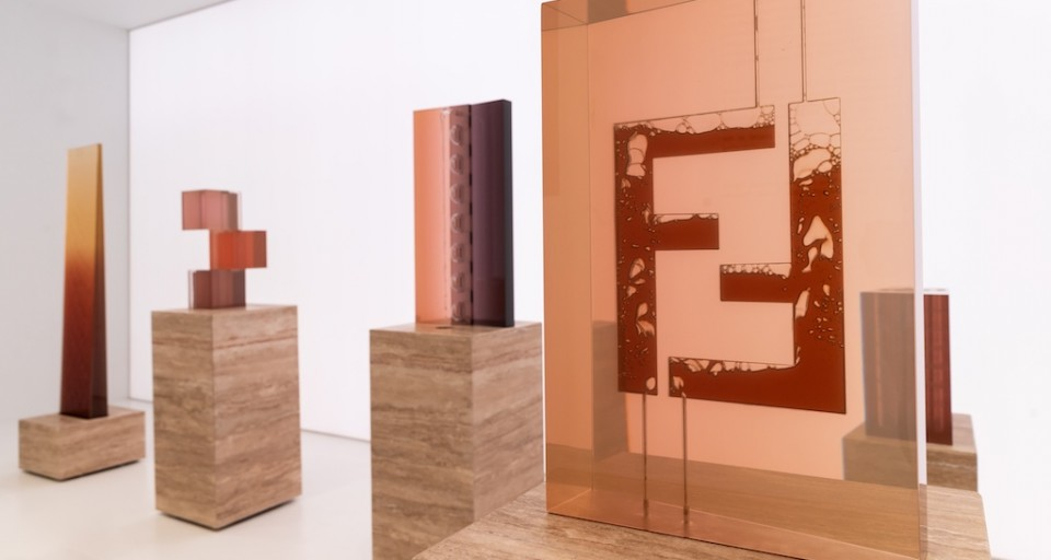 "One-On-One With FENDI ""The Shapes Of Water"" Designer Sabine Marcelis At Design Miami/"