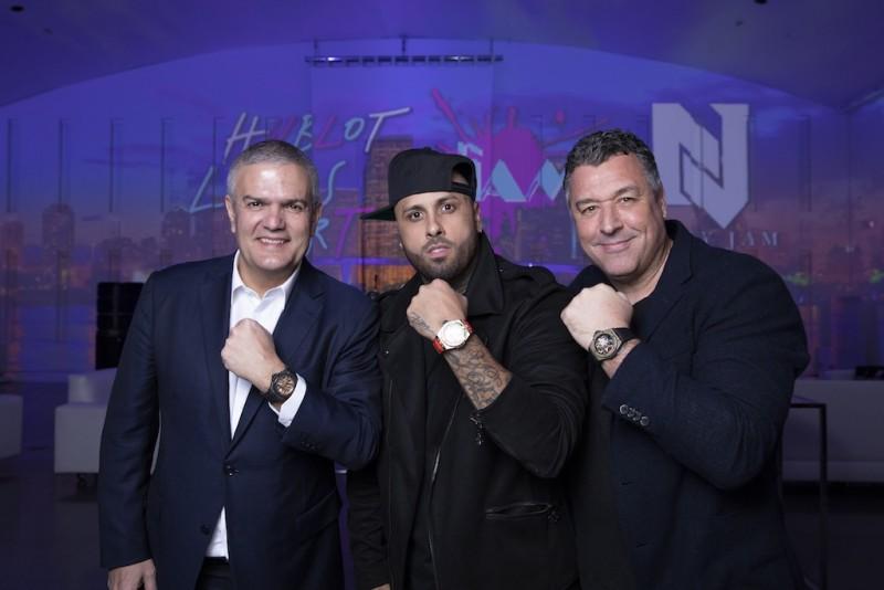 Ricardo Guadalupe, Nicky Jam and Rick De La Croix