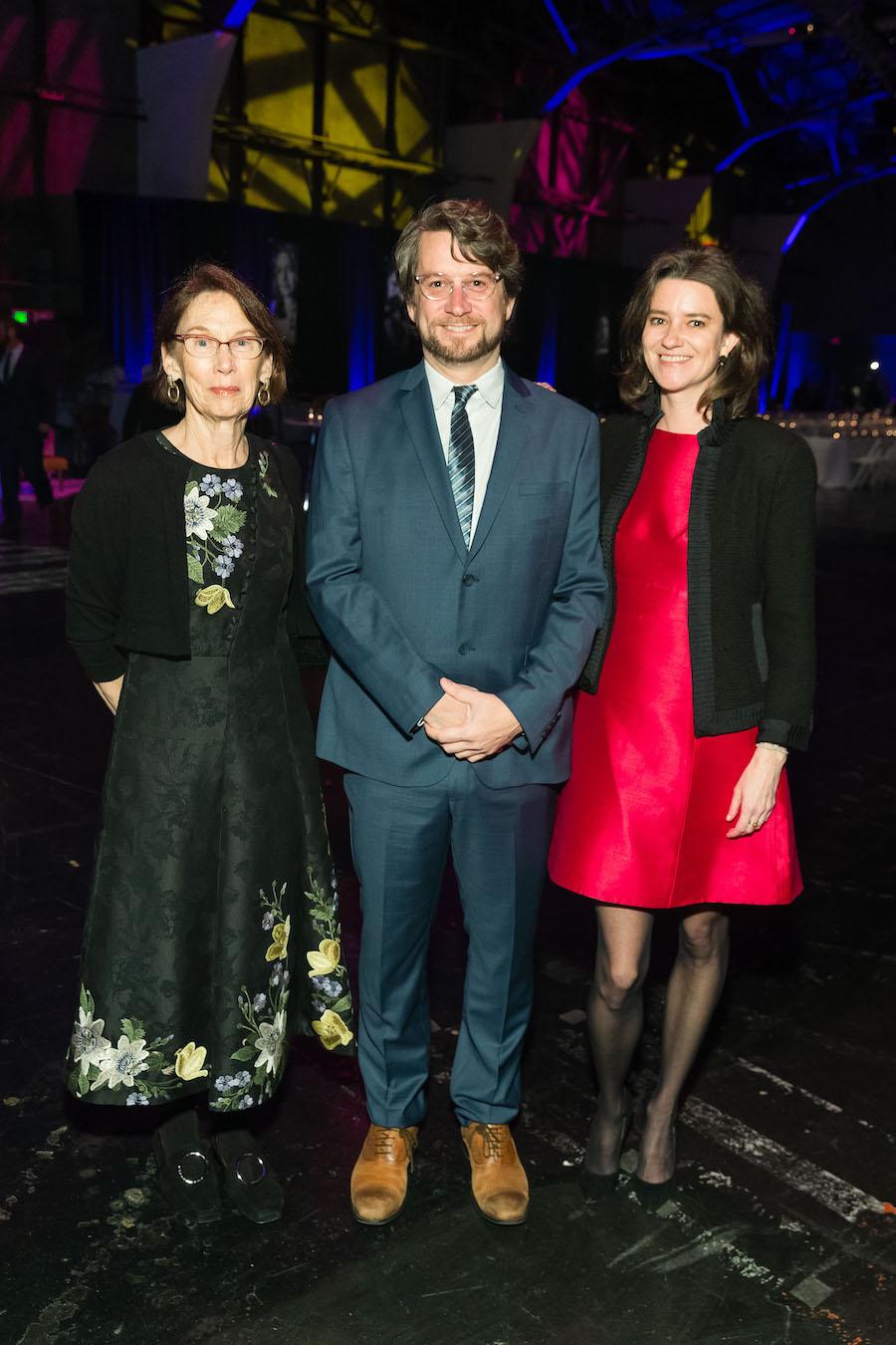 Charlotte Winton, John O'Rourke and Kirsten Strobel