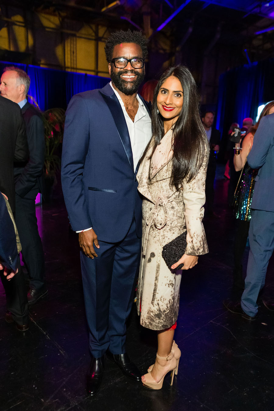 Erik Moore and Anisha Padamshi