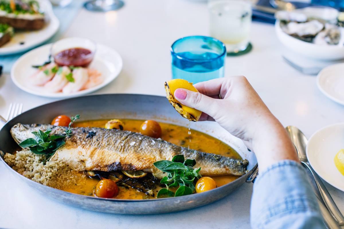 Fresh fish at Navio