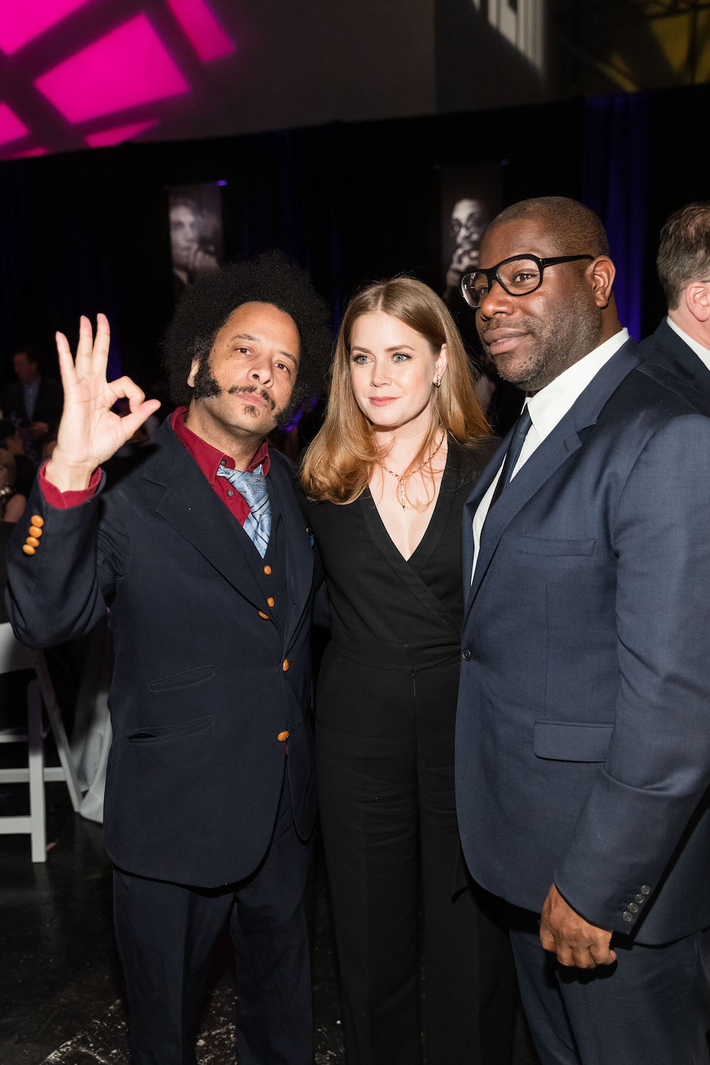 Boots Riley, Amy Adams and Steve McQueen