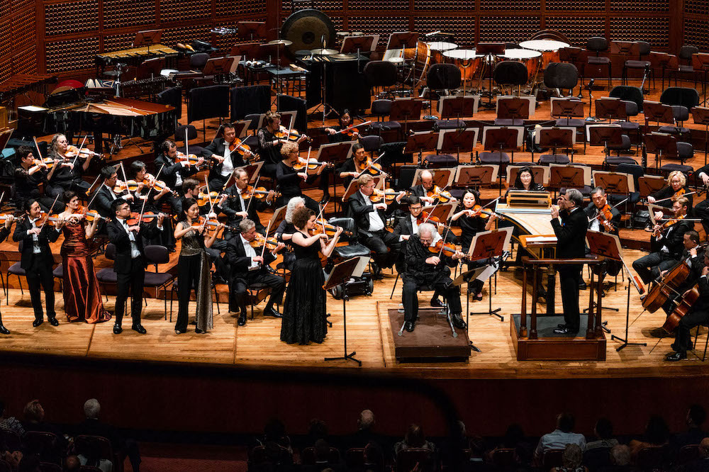 San Francisco Symphony performs at the 2018 opening gala