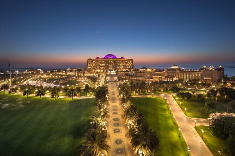 AD Emirates Palace Dusk