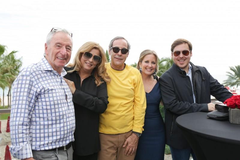 Jules Trump and guests