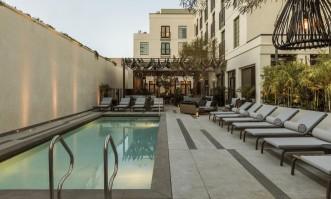 Kimpton La Peer Hotel, Beverly Hills, Ca. Photographed by laure Joliet 2018