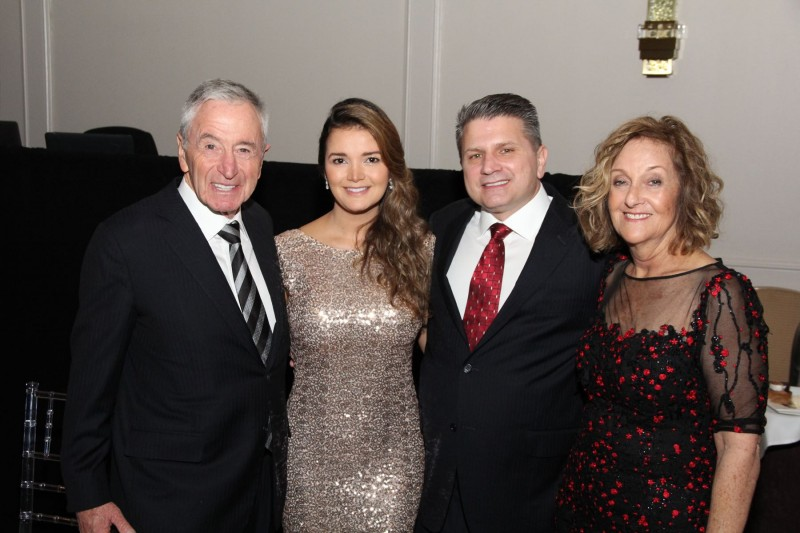 Jules and Stephanie Trump with Friends