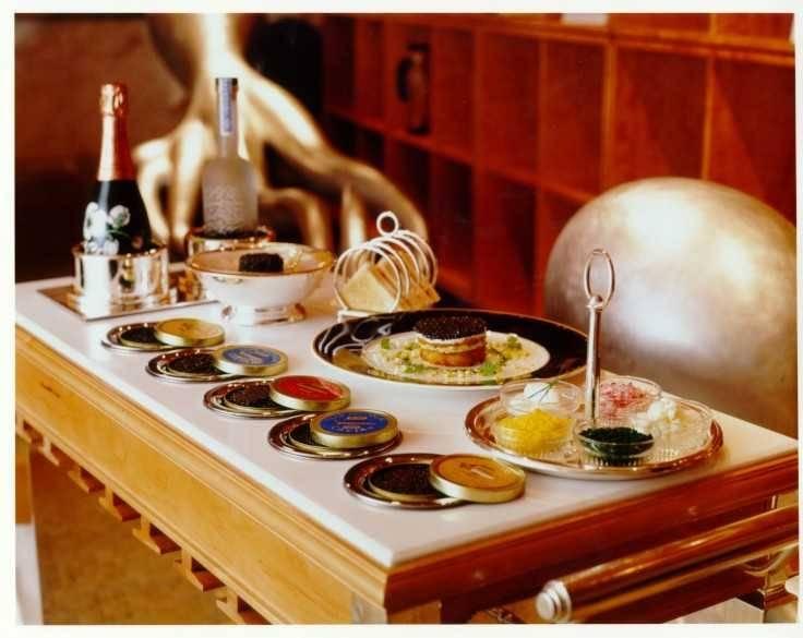 Michael-Mina-Caviar-Cart