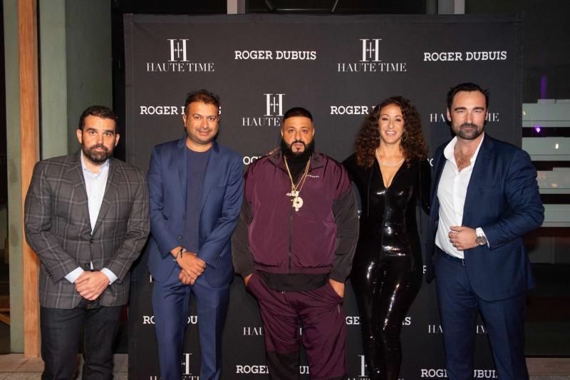 Seth Semilof, Kamal Hotchandani, DJ Khaled, Nicole Tuck and Nicholas Marion
