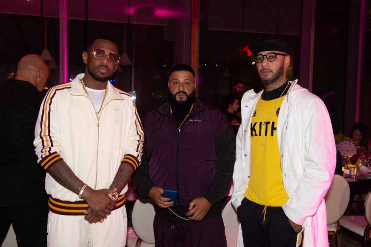 Fabolous, DJ Khaled and Swizz Beatz