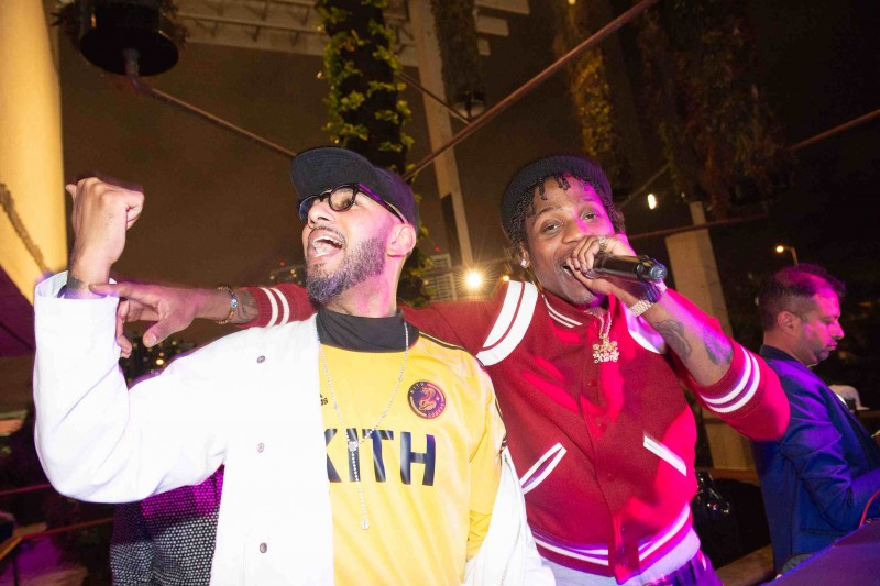 Swizz Beatz and Flipp Dinero