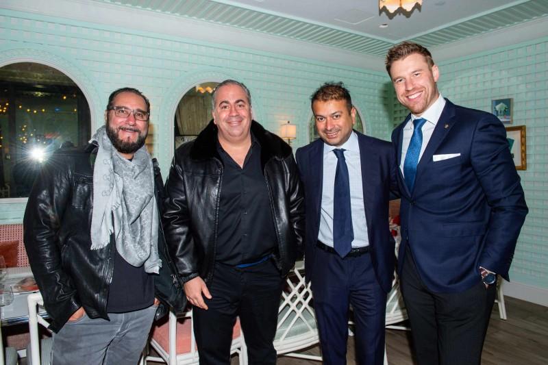 Louis Birdman, Joey Goldman, Kamal Hotchandani and François Surcin