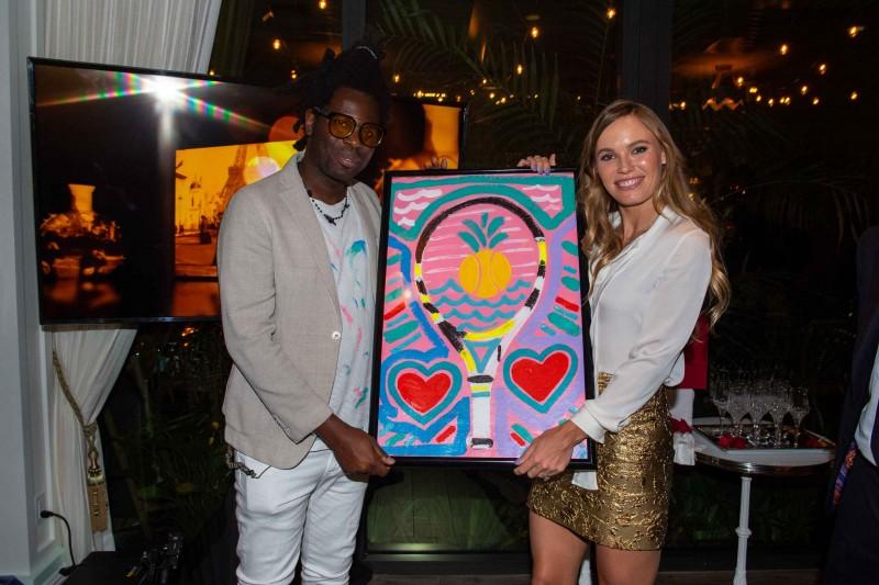 Bradley Theodore and Caroline Wozniacki