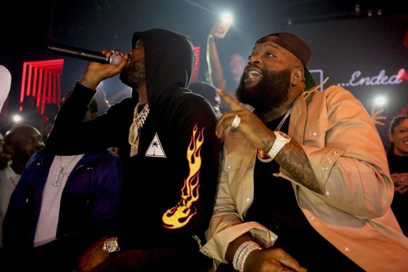 Rick Ross and Meek Mill at Rockwell