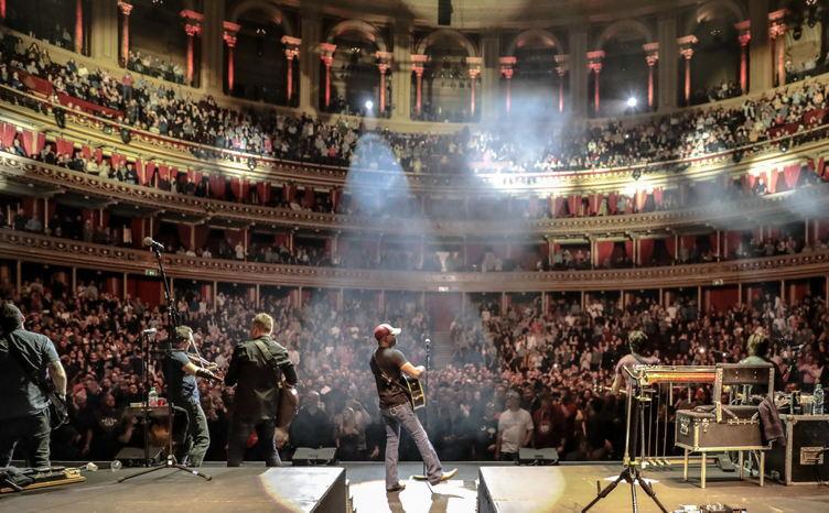 Darius performs at London's Royal Albert Hall