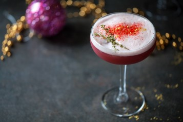 Christmas cocktail shutterstock
