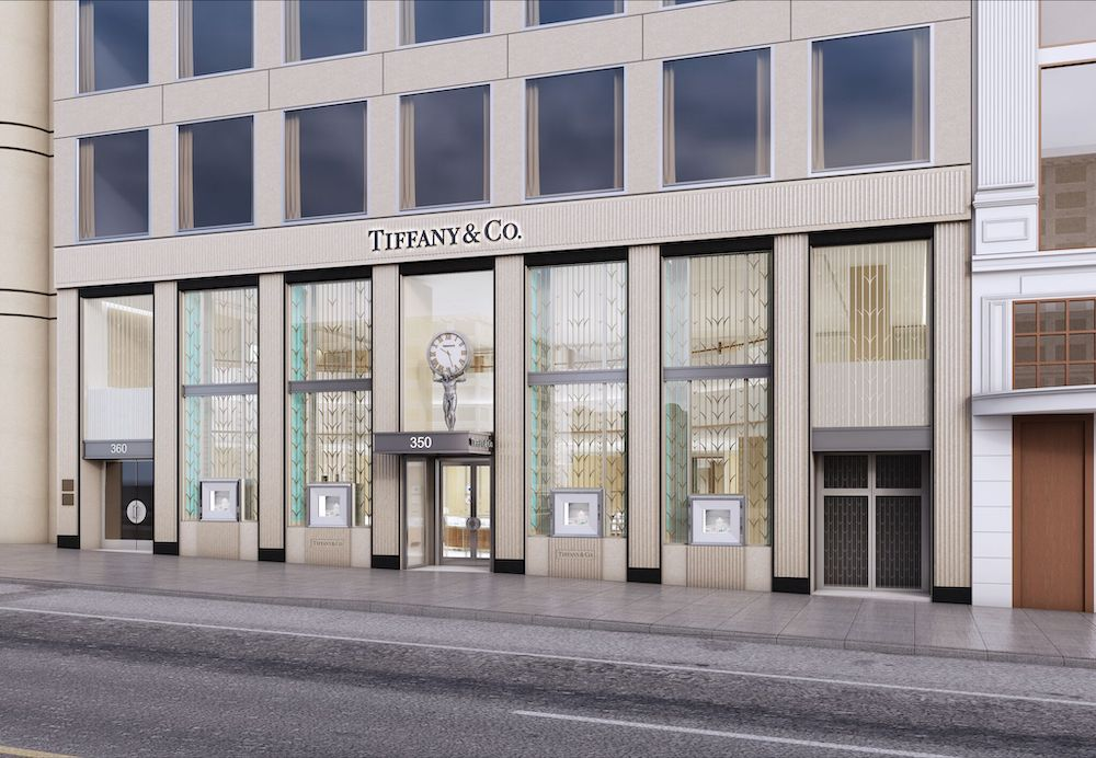 The Tiffany & Co. store in Union Square