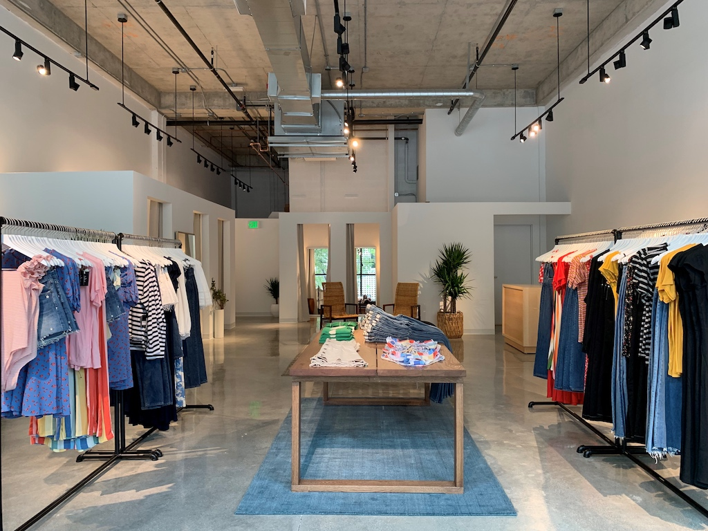 Celeb Favored Sustainable Clothing Brand Reformation Opens In Miami's Design District