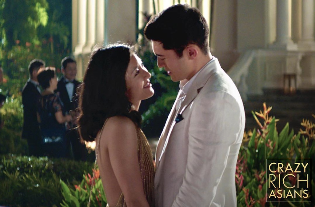 "Constance Wu and Henry Golding in ""Crazy Rich Asians"""