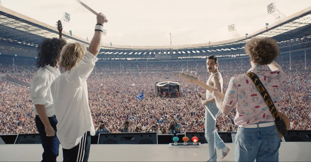 "Rami Malek as Freddy Mercury in ""Bohemian Rhapsody"""