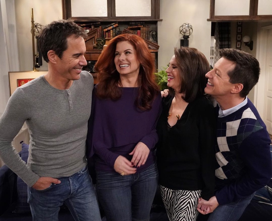 "The stars of NBC's ""Will & Grace,"" Eric McCormack, Debra Messing, Megan Mullally and Sean Hayes"