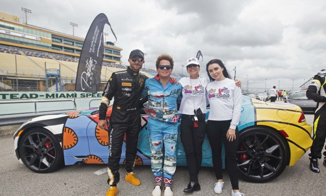Brett David, Romero Britto, Valerie Kaye, Brooke David