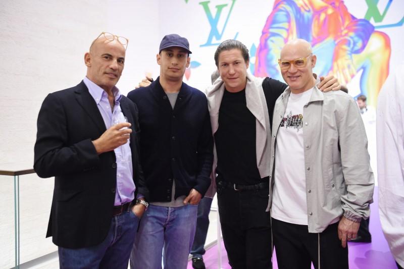 Guy Dellal, Alex Dellal, Vito Schnabel, & Craig Robins
