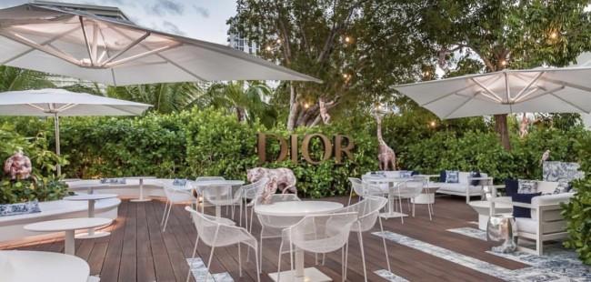 Miami Design District Dior Cafe