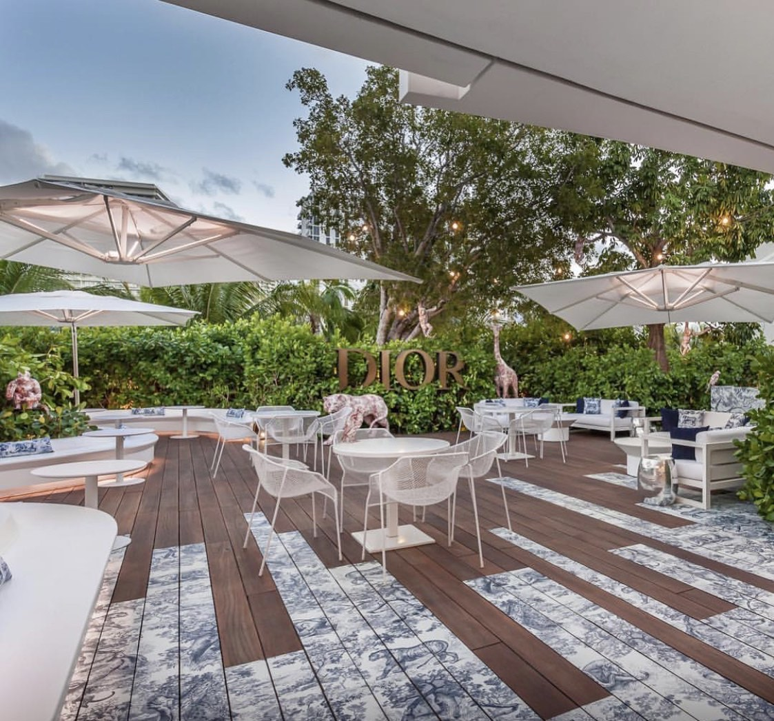 Dior Cafe Opens At Dior Miami Design District
