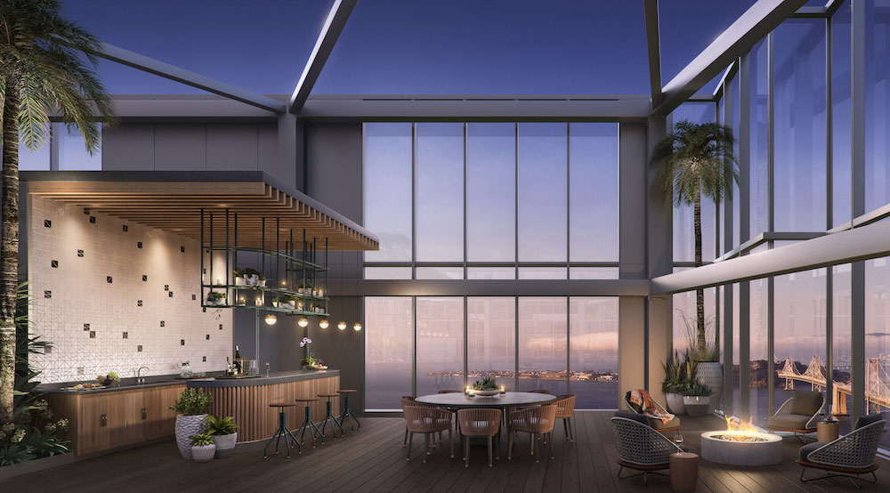 The avery now home to one of san francisco s most expensive penthouses