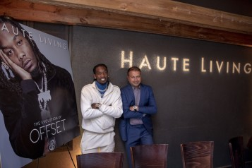 Haute Living Celebrates Offset With Roger Dubuis