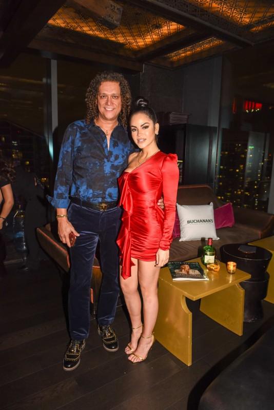 Luis Tenorio and Natti Natasha