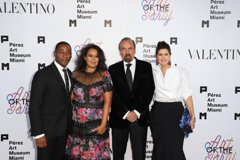 Franklin and Jessica Sirmans, Jorge and Darlene Pérez