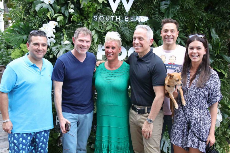 Celebrity Chefs at W South Beach for South Beach Food & Wine Festival